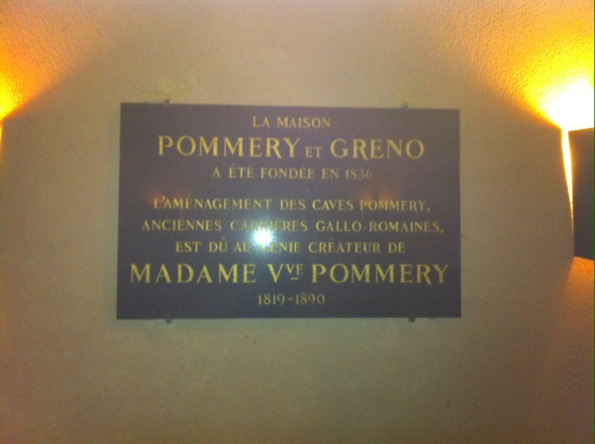 Caves Champagne Pommery
