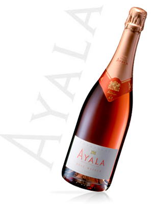 Champagne Ayala Rosé Majeur Bouteille 75CL