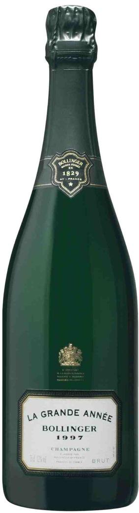 Champagne Bollinger Grande Année 1997