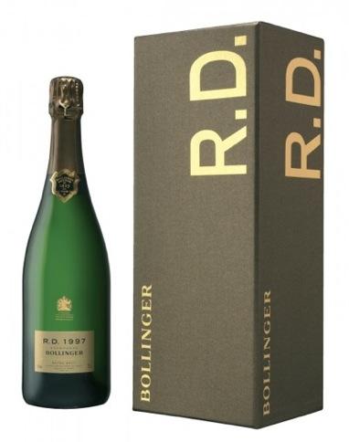 Champagne Bollinger RD 1997