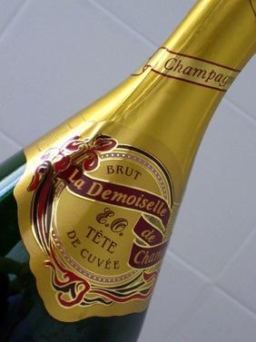 Champagne Demoiselle Brut Magunm Jeroboam