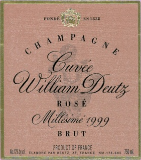 Champagne Deutz William Deutz Rosé