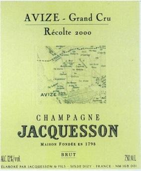 Champagne Jacquesson Avize Grand Cru