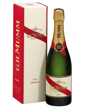 Champagne Mumm Cordon Rouge
