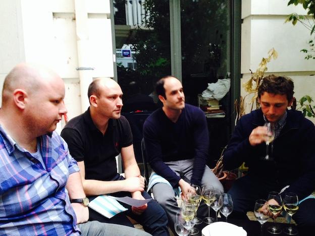 EVG Quentin / Degustation Champagne
