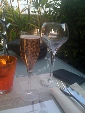 Flute de Champagne Rosé