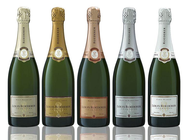 Champagne Roederer Brut Premier, Rosé et toute la gamme