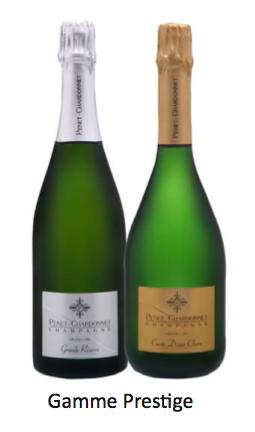 Champagne Penet-Chardonnet Brut Nature Penet Chardonnet et Cuvée Diane Claire
