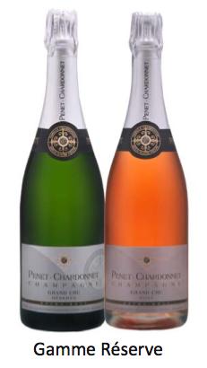 Champagne Penet-Chardonnet Grand Cru Réserve Brut et Rosé