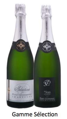 Champagne Penet-Chardonnet Sélection et Saint-Jean