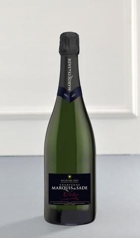 Champagne Marquis de Prestige Sade Grand Cru 2002