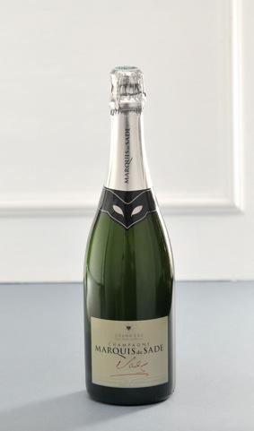 Champagne Marquis de Sade Blanc de Blanc Grand Cru