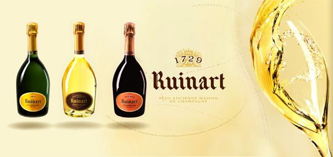 champagne ruinart histoire
