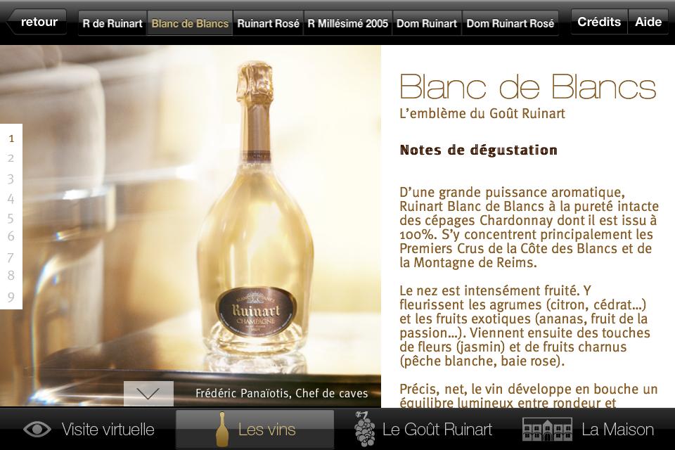 Champagne paris achat vente livraison champagne en cave - Prix champagne ruinart blanc de blanc ...