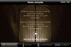 Début de la Visite Virtuelle