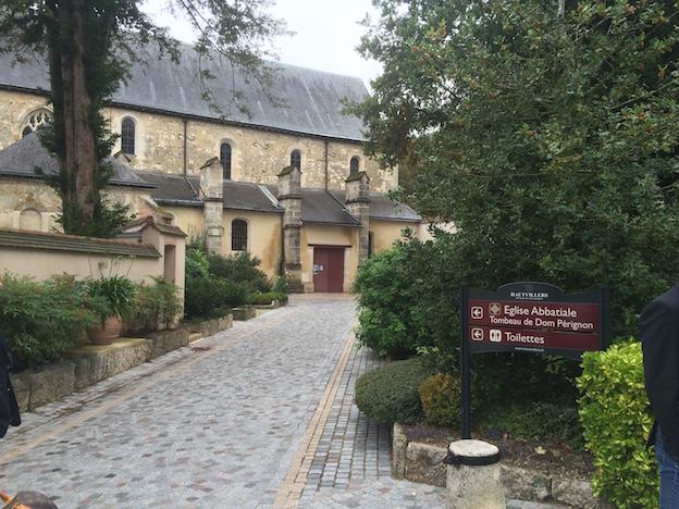 Abbaye d'Hautvillers de Dom Pierre Pérignon