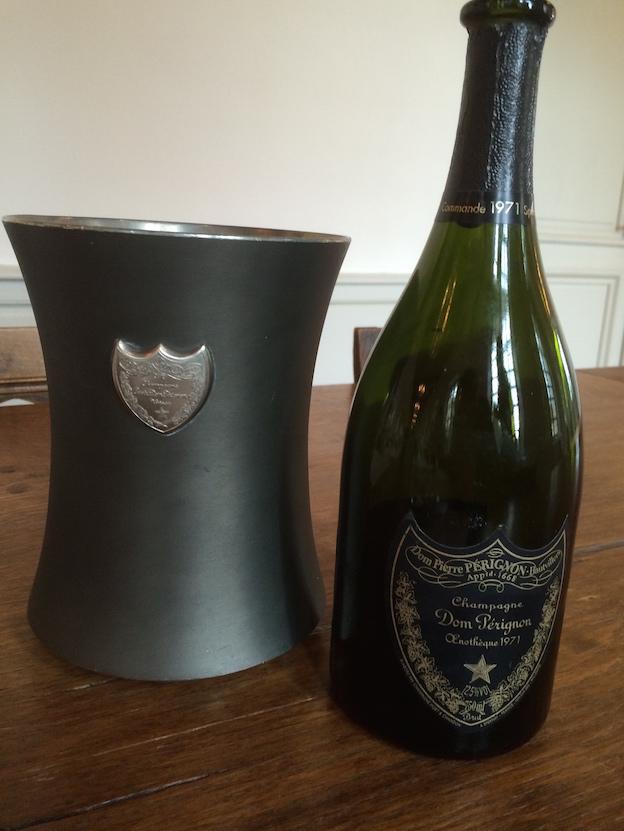 Champagne Dom-Pérignon oenothèque 1971 ou P3 1971
