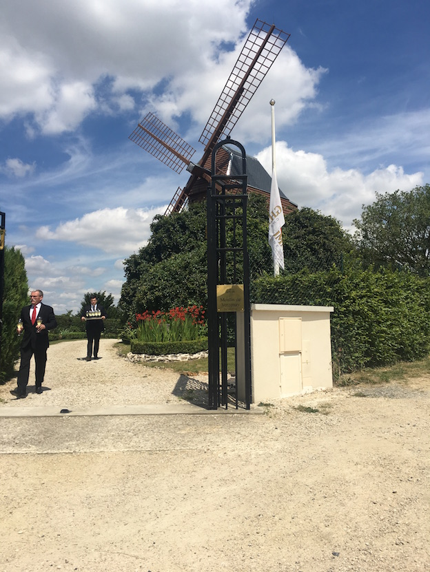 Moulin de Verzenay appartenant au groupe Mumm / Perrier Jouet