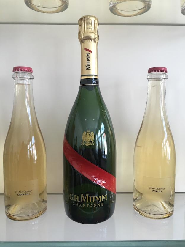 Nouvelle bouteille de champagne Mumm réserve