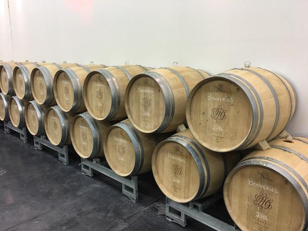 Champagne Duval-Leroy fûts de Clos des Bouveries 2016