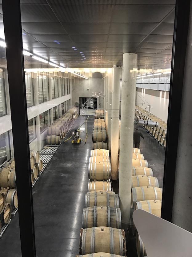 Champagne Duval-Leroy Salle des Fûts