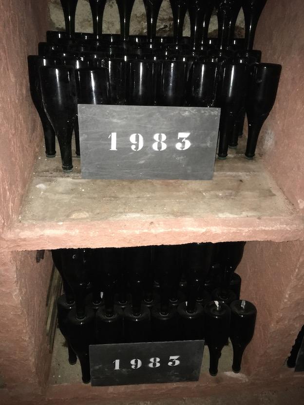 Champagne Salon : oenothèque 1983, mon année de naissance ;-)