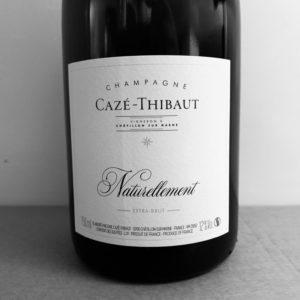 champagne saze-thibaut cuvée naturellement pinot meunier