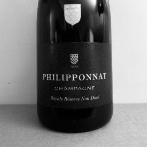 champagne philipponnat royale réserve non dosé