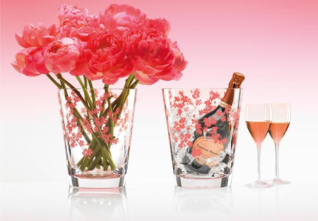 C'est mon Annif , j'ai 3 ans  Champagne-laurent-perrier-rose-seau-baccaratjpg